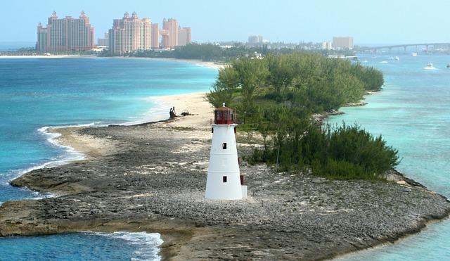 bahamy wyspa latarnia