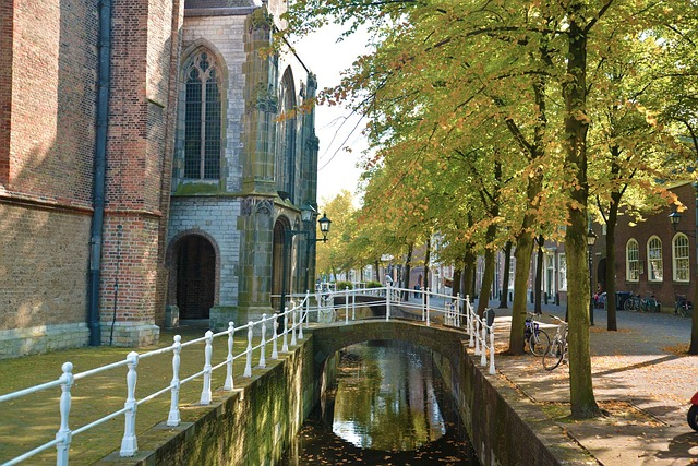 holandia kanal zabytki