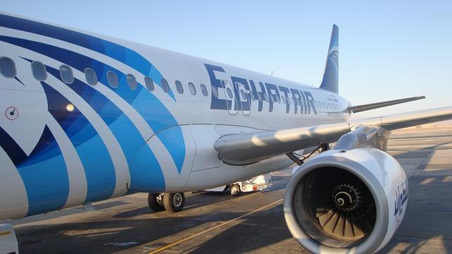 samolot egyptair