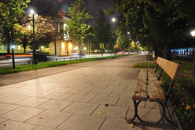 ulica warszawa lawka